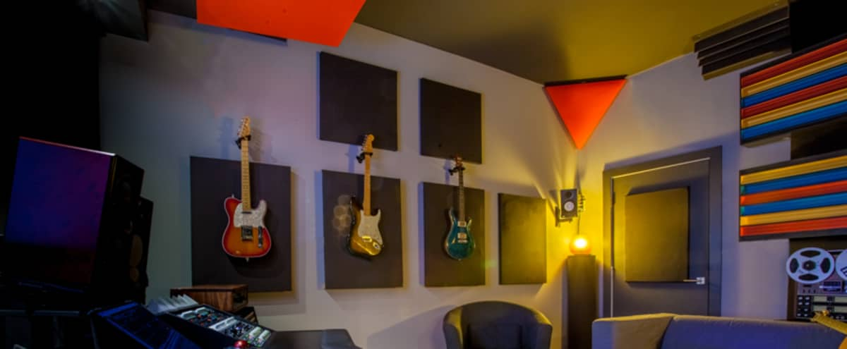 Culver City-area Recording Studio with private parking in Los Angeles Hero Image in Culver City, Los Angeles, CA