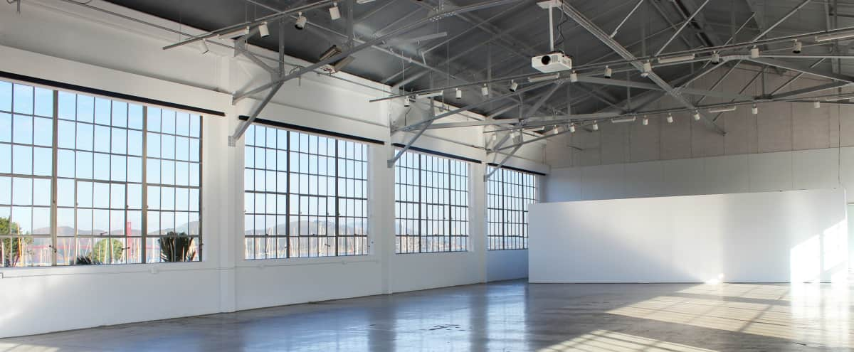 Versatile Gallery Space with Natural Light and Amazing Views of the Marina in San Francisco Hero Image in Marina District, San Francisco, CA