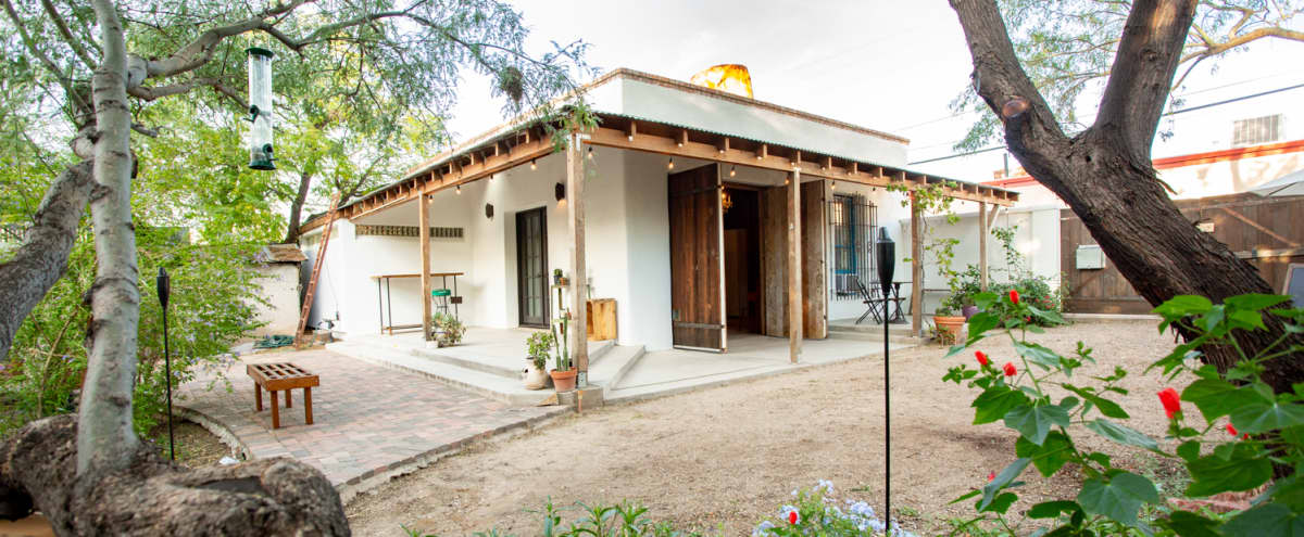 Intimate Indoor/Outdoor Downtown Event Space in Tucson Hero Image in Barrio Santa Rosa, Tucson, AZ