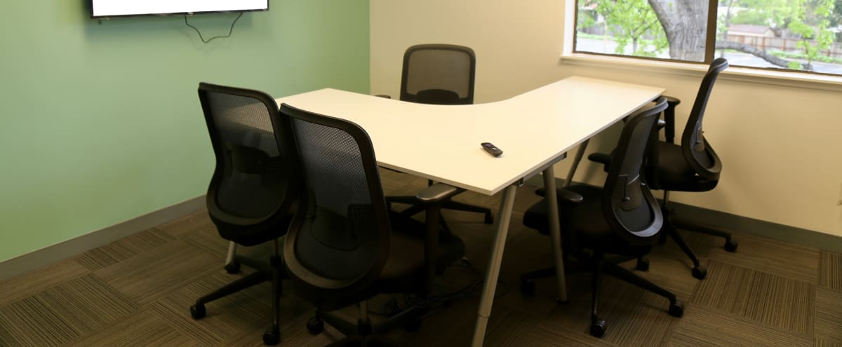 Small Meeting Room for up to 5 people in San Mateo in San Mateo Hero Image in Marina Lagoon, San Mateo, CA