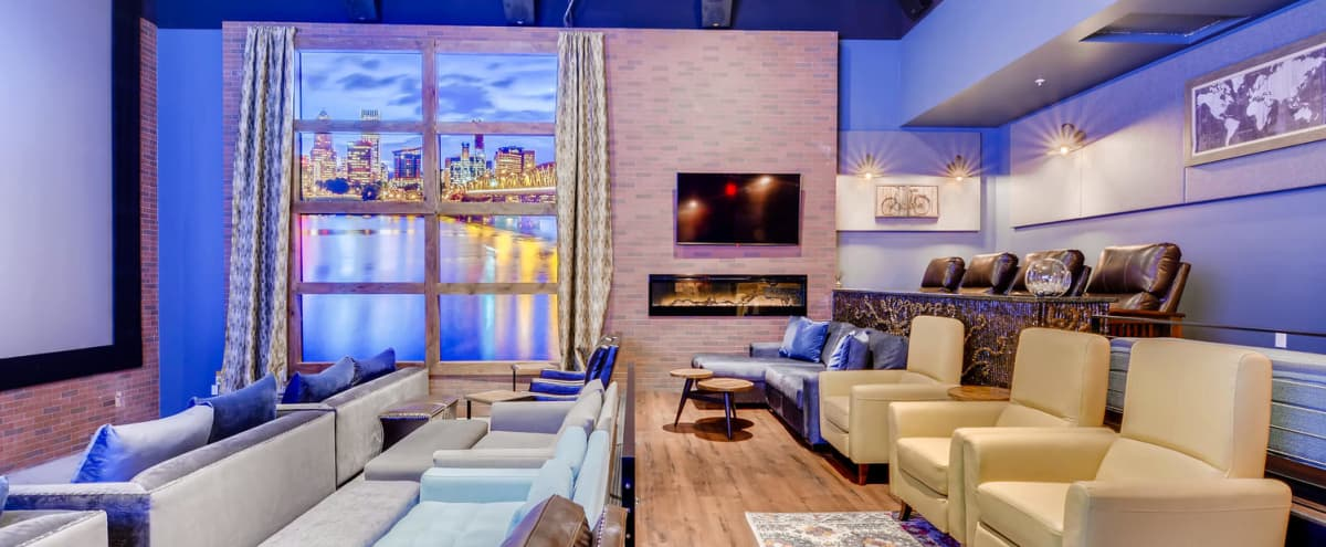 Premier Luxury Business Retreat in Portland Penthouse Theater Room (Pricing Includes Dining) in Portland Hero Image in Richmond, Portland, OR