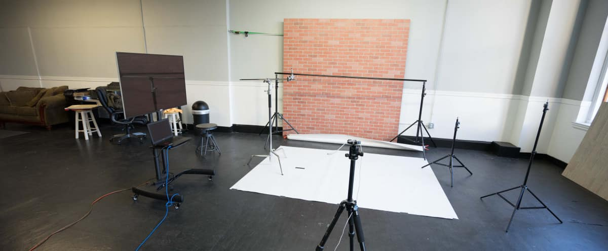 Huge Downtown Studio with tons of natural light in Lowell Hero Image in Downtown, Lowell, MA