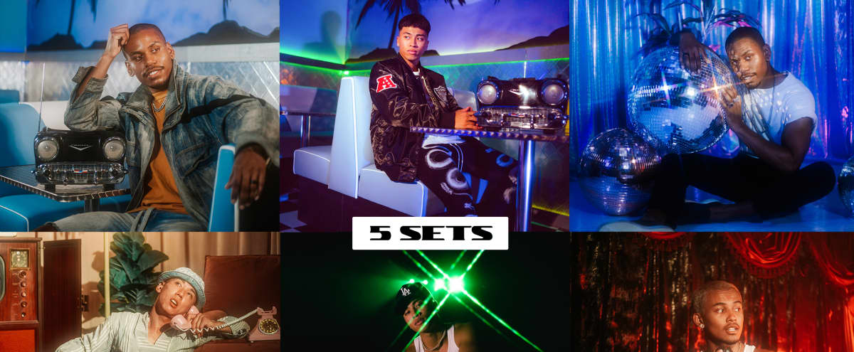NEW - Multi-Set Retro Studio - Lighting Included - Neon Diner, Theater, 70's Loft, Disco Room, Black Tunnel in Los Angeles Hero Image in Central LA, Los Angeles, CA