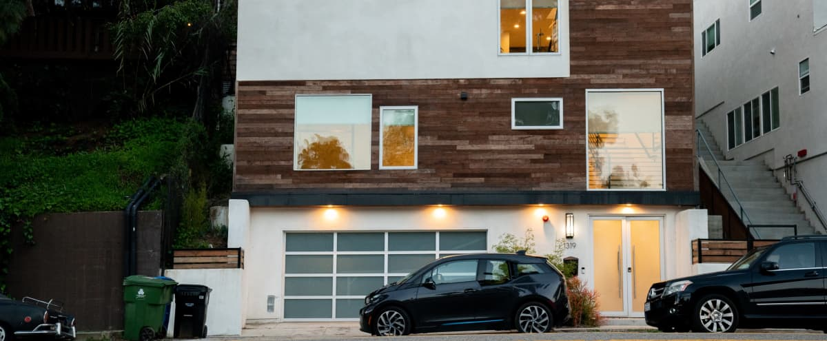 Modern Silver Lake Multi-Level House with lots of natural Ambient Light in Los Angeles Hero Image in Silver Lake, Los Angeles, CA