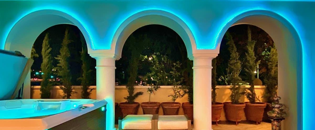 Luxurious Modern Italian Villa in Resort-Style Oasis! in Pasadena Hero Image in South Arroyo, Pasadena, CA