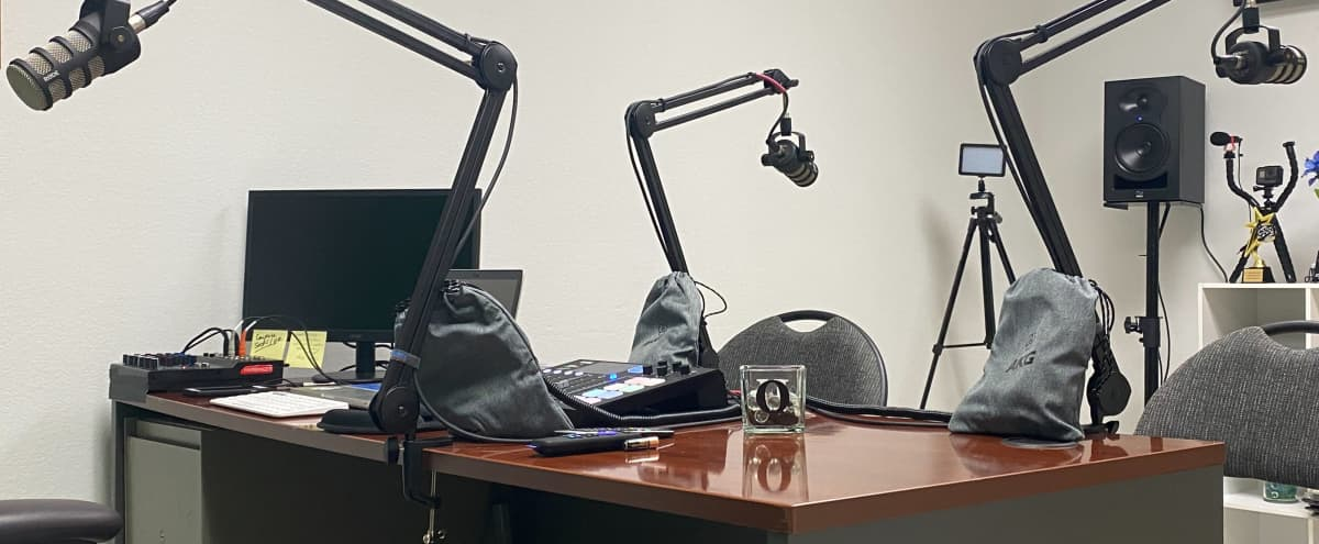 Podcasting And Production Studio With A DJ Booth in Alton Hero Image in undefined, Alton, IL