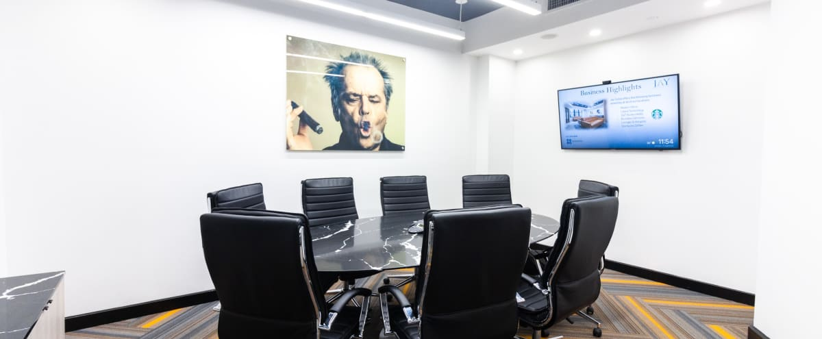 Beautiful Brand New 8 Person Meeting Room- Prime Location in New York Hero Image in Midtown, New York, NY