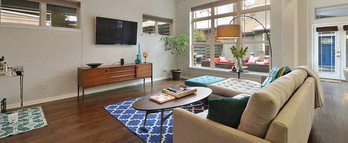 Meeting Retreat in Spacious and Modern Bouldin Home in Austin Hero Image in Bouldin Creek, Austin, TX