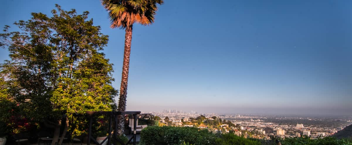Hollywood Hills European Villa with private pool, yard, and sweeping city views! in Los Angeles Hero Image in Central LA, Los Angeles, CA