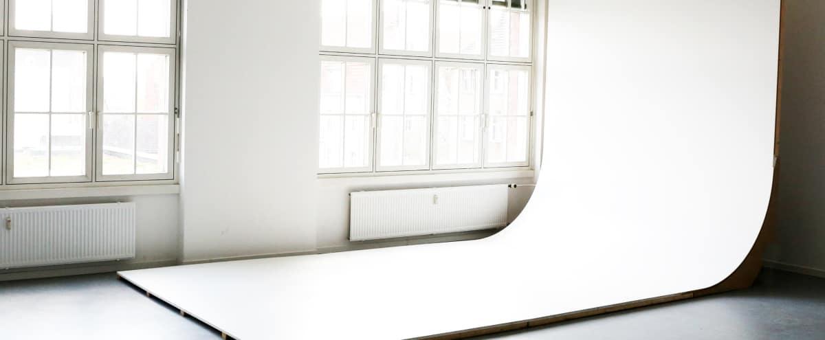 Professional photography studio space near Ostkreuz Station (model) in Berlin Hero Image in Victoriastadt, Berlin,