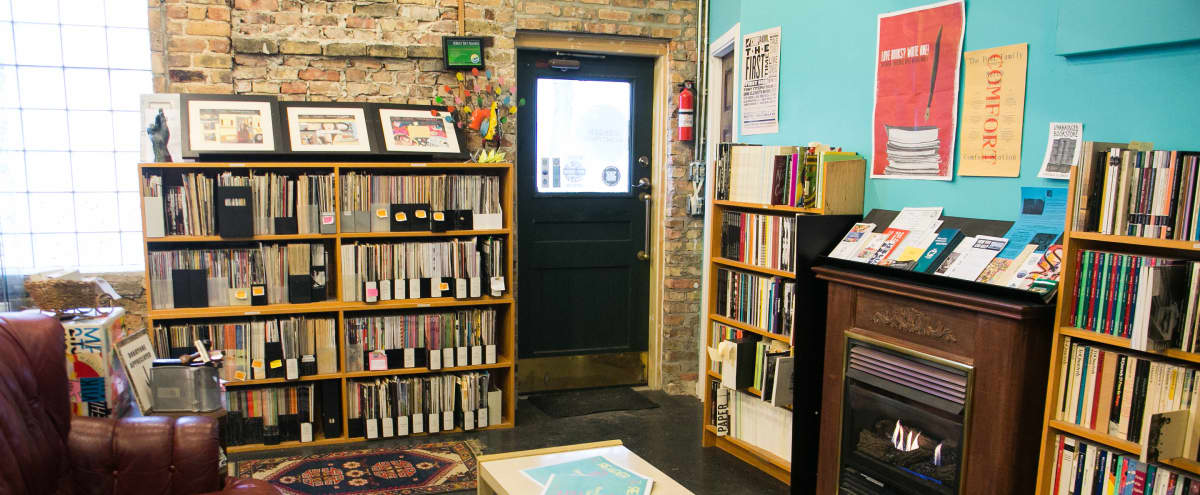 A Unique, Intimate Haven Amid Local Literature & Media in Chicago Hero Image in West Town, Chicago, IL