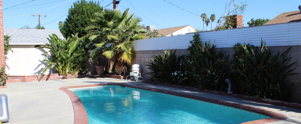 Beautiful Valley Home with Pool and Fireplace in Reseda Hero Image in Reseda, Reseda, CA