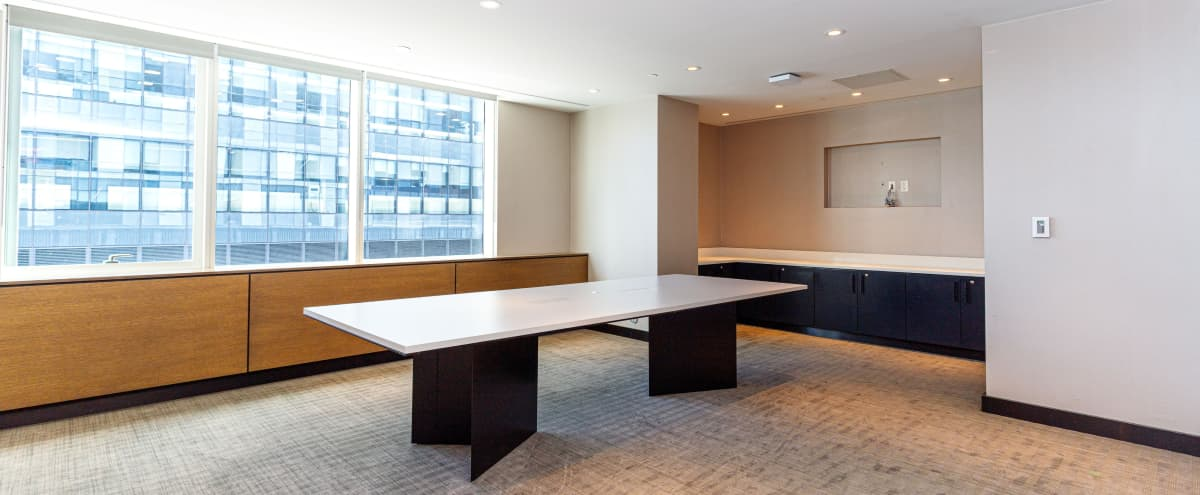Private Conference Room with LIC Views in Long Island City Hero Image in Long Island City, Long Island City, NY