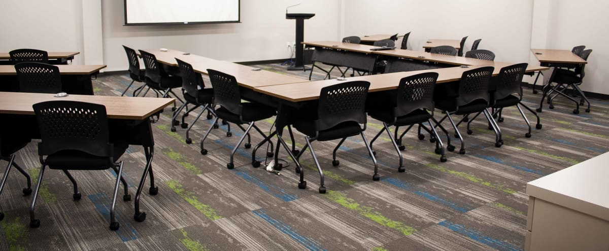 Spacious Training Room for 32 in Houston Hero Image in undefined, Houston, TX
