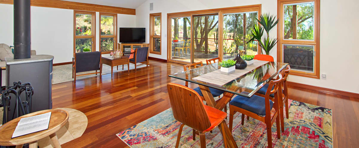 Meeting Retreat: Luxury European Style Cabin on 4.5 acres in Winchester Hero Image in undefined, Winchester, CA