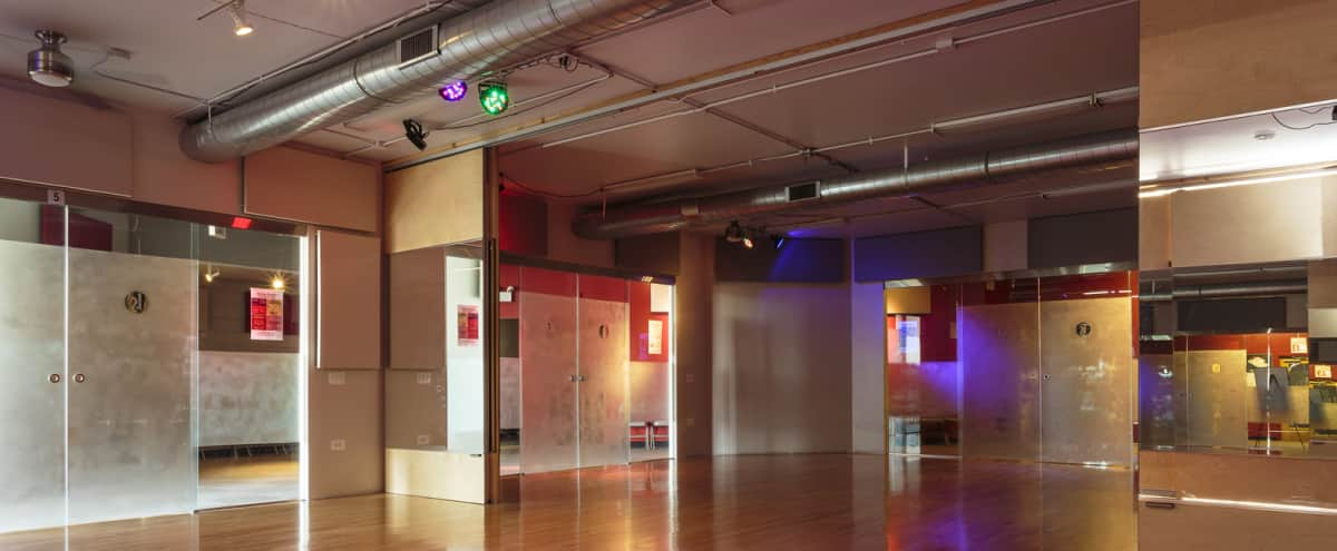 Beautiful Dance Studio Available for Private Events | South Loop in Chicago Hero Image in South Loop, Chicago, IL