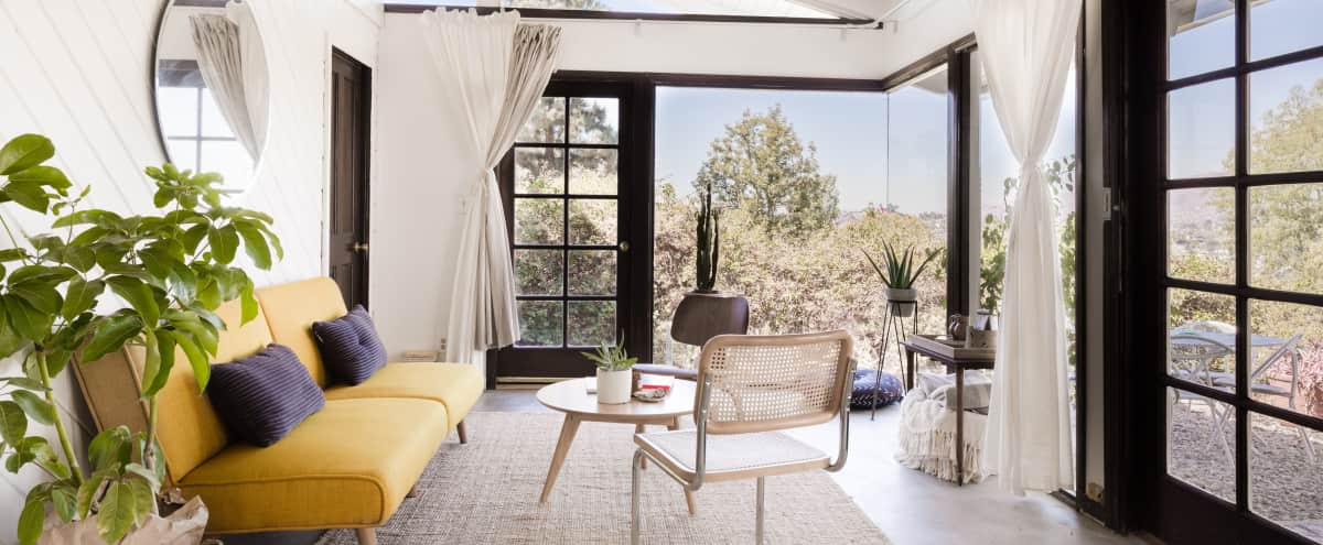 Modern Hilltop Studio with Stunning Views in LOS ANGELES Hero Image in Eagle Rock, LOS ANGELES, CA