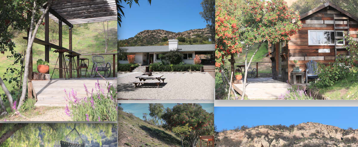 Villa Valentina. 10 acre ranch in Topanga Canyon (Los Angeles), crafted for still and motion productions.600 sqft studio. in topanga Hero Image in Old Topanga, topanga, CA
