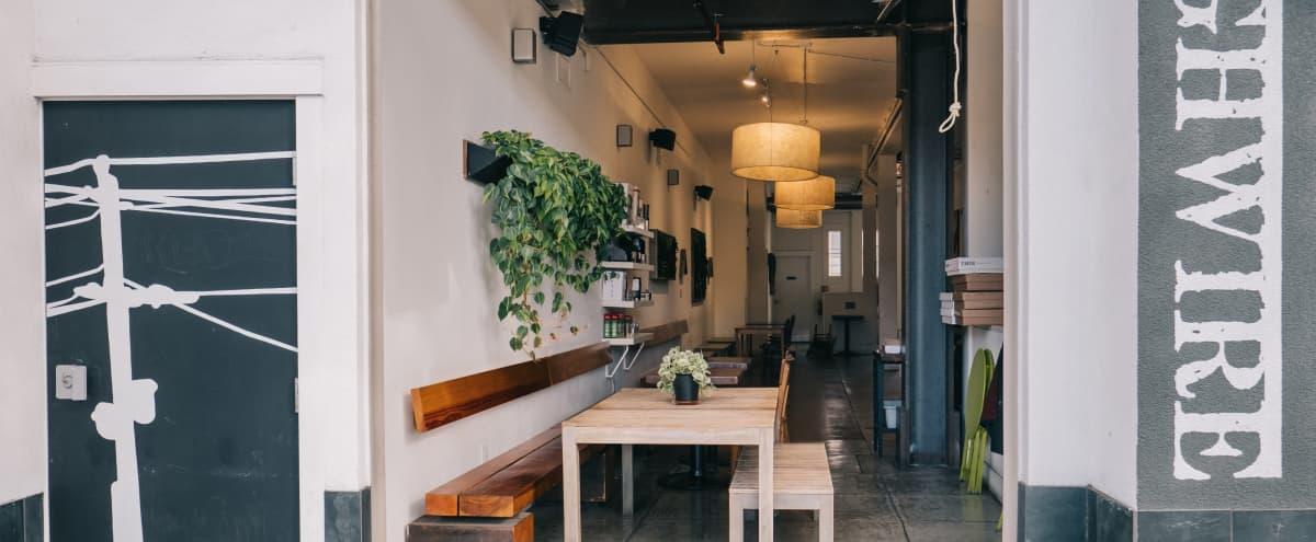 Comfortable Cafe Space & Patio Hosted by Expert Barista in Berkeley Hero Image in Poets Corner, Berkeley, CA
