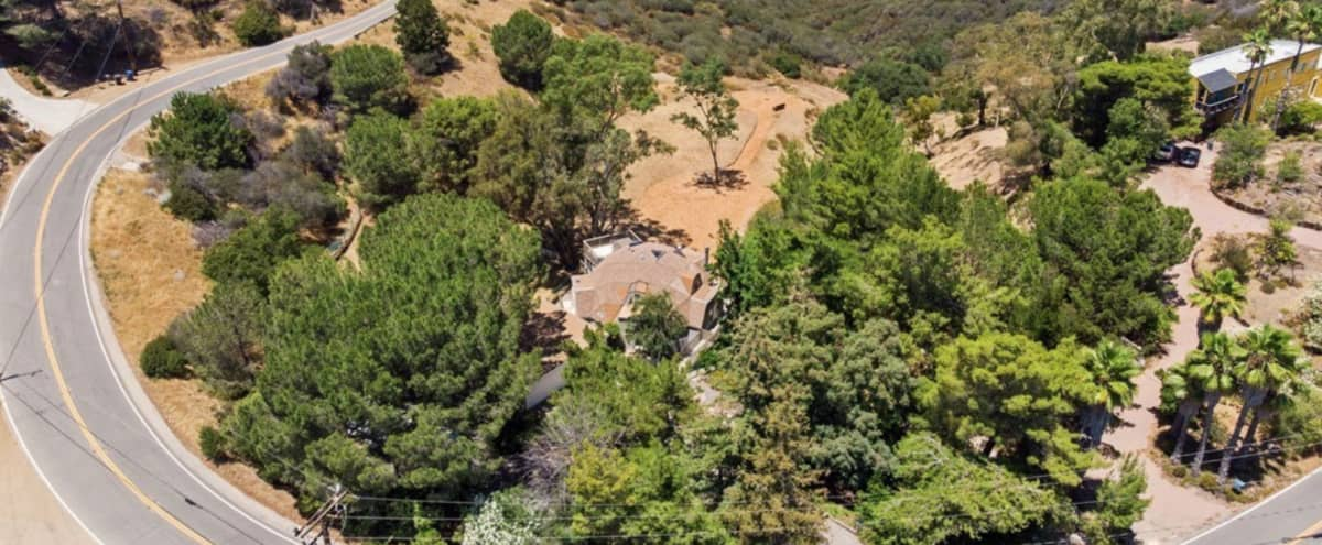 Cozy Mallard RV with spectacular land and views. in Topanga Hero Image in undefined, Topanga, CA