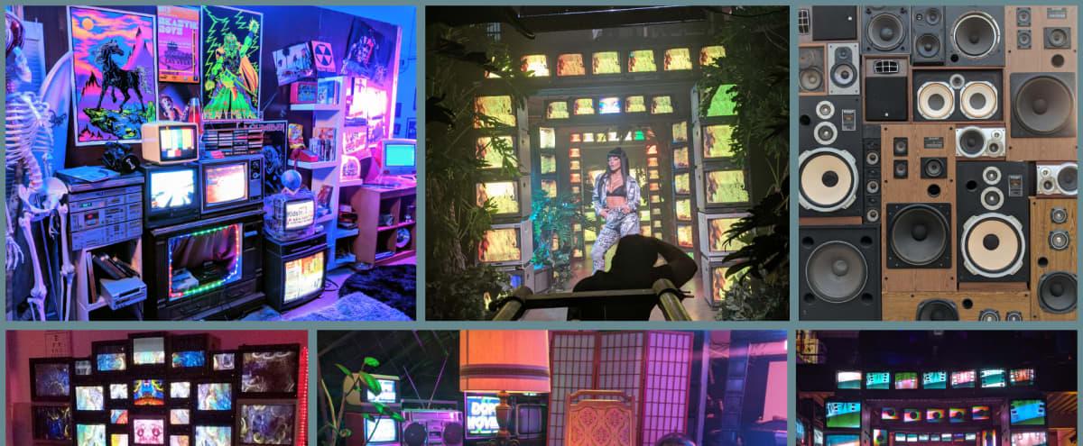 Custom Vintage TV Wall and prop playland! in Los Angeles Hero Image in Lincoln Heights, Los Angeles, CA