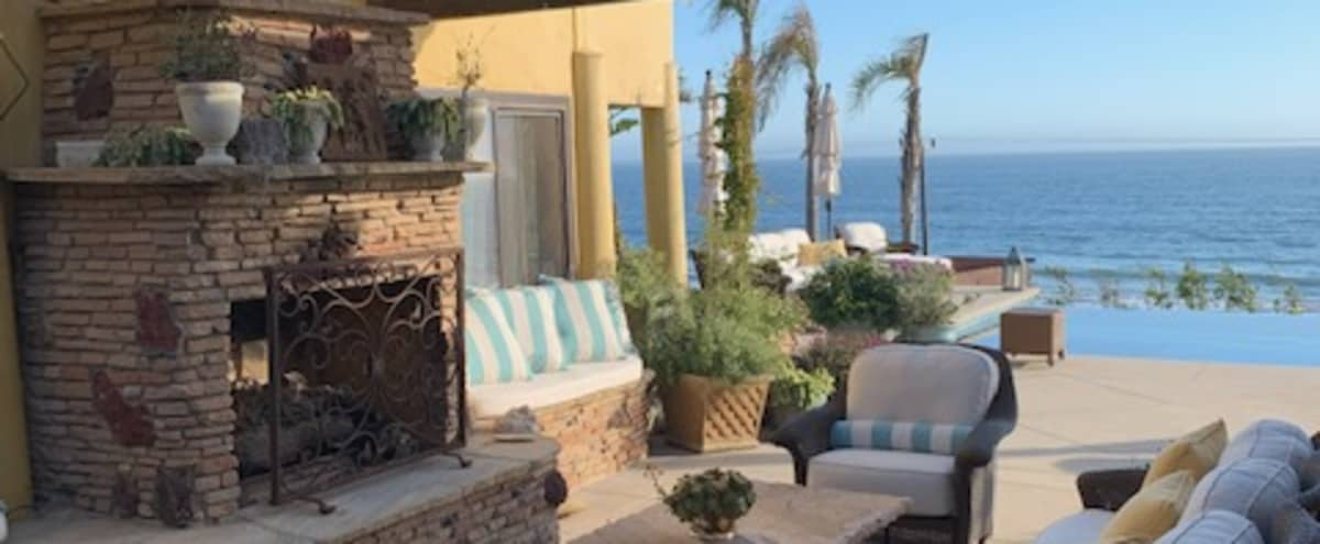 Ocean front home, Infiniti pool, gorgeous gardens in Malibu Hero Image in Western Malibu, Malibu, CA