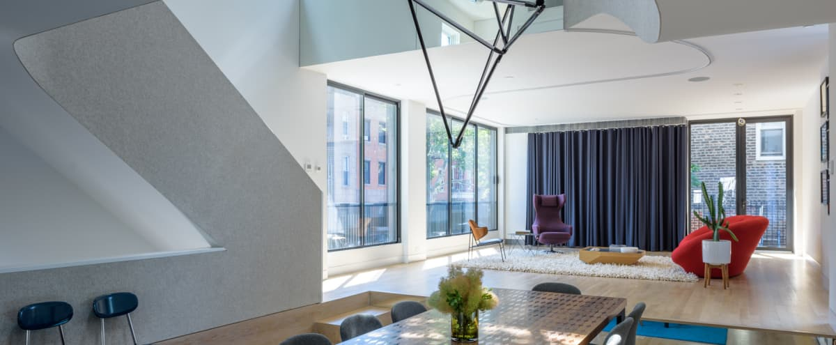 Loft Like Townhouse Apartment in Brooklyn Hero Image in Williamsburg, Brooklyn, NY