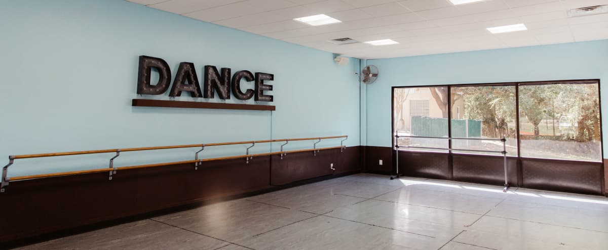 Dance Studio With Dance Sign in Central Austin (Studio 5) in Austin Hero Image in Barton Hills, Austin, TX