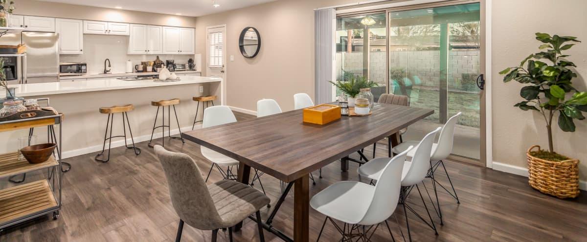 Meeting Retreat: Modern Bohemian Home in South Scottsdale in Scottsdale Hero Image in Cox Heights, Scottsdale, AZ