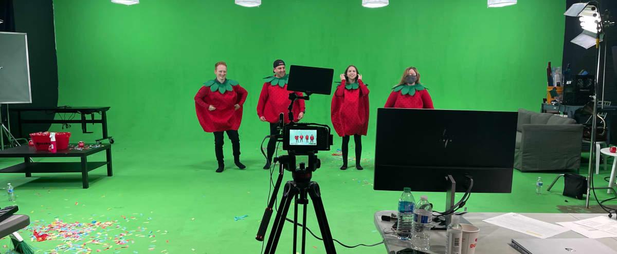 Film Studio in Dallas Design District with Green Cyc Stage in Dallas Hero Image in Design District, Dallas, TX