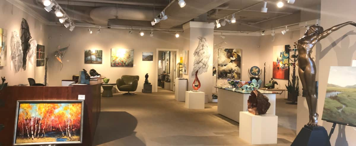 Downtown Art Gallery with spacious area for hosting private events in Seattle Hero Image in Downtown, Seattle, WA