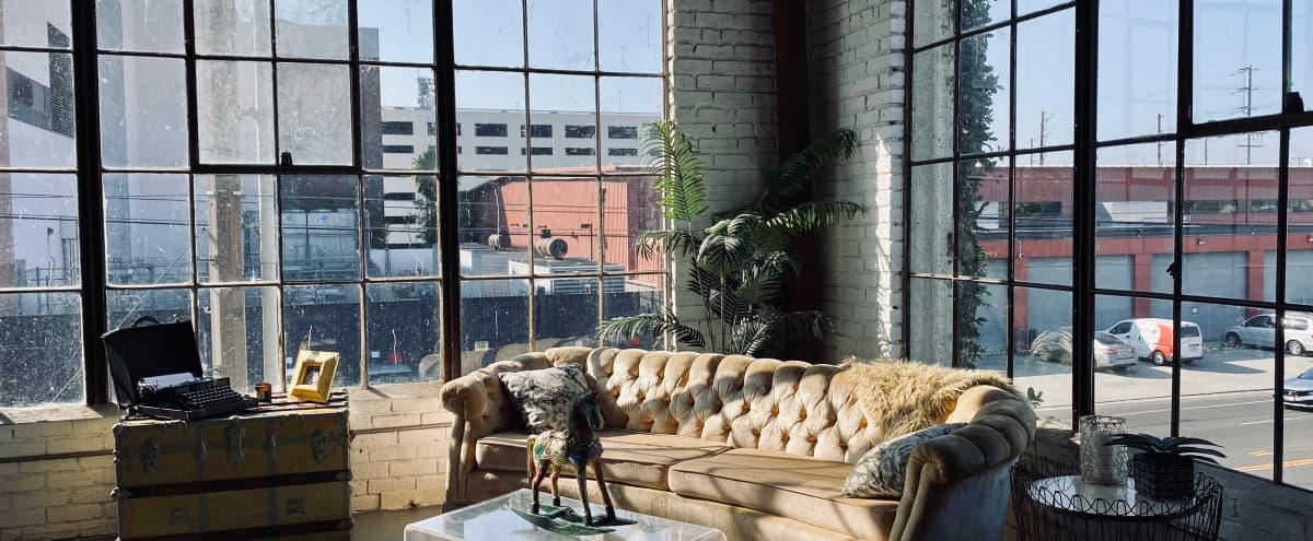 Downtown View Loft With High Ceiling and Large Panoramic Windows in Los Angeles Hero Image in South Los Angeles, Los Angeles, CA