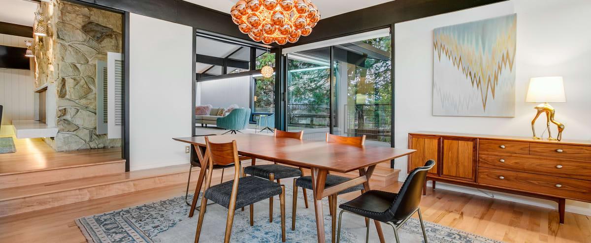 Meeting Retreat in Seattle Mid Century Modern House in Seattle Hero Image in Rainier Valley, Seattle, WA