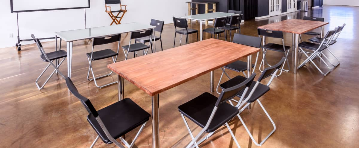 Contemporary Meeting & Event Space, 1,900 sq ft  Near Airport, Warner Bros, Disney, etc in Burbank Hero Image in Magnolia Park, Burbank, CA