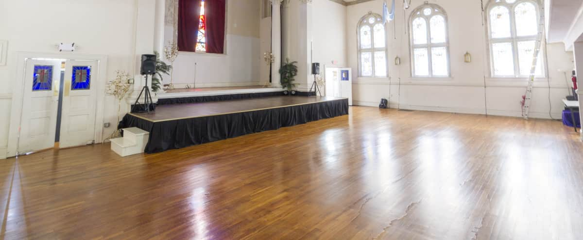 Training School & Theater Located in Old Church