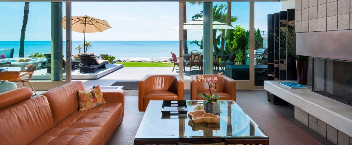 Meeting Retreat: Large Asian-inspired Soft Contemporary Luxury Beach House in Capistrano Beach Hero Image in undefined, Capistrano Beach, CA