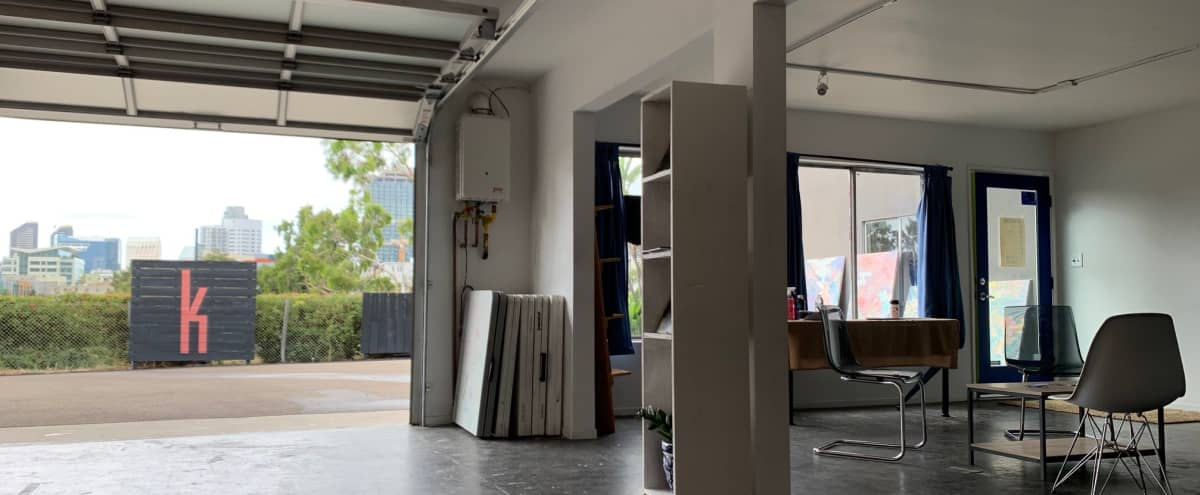 Art Gallery & Workspace Perfect for Events with Private Parking Lot in San Diego Hero Image in Sherman Heights, San Diego, CA