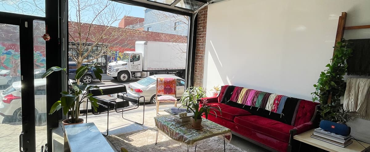 Bright Street Access Photo Studio with Equipment Included in Brooklyn Hero Image in East Williamsburg, Brooklyn, NY