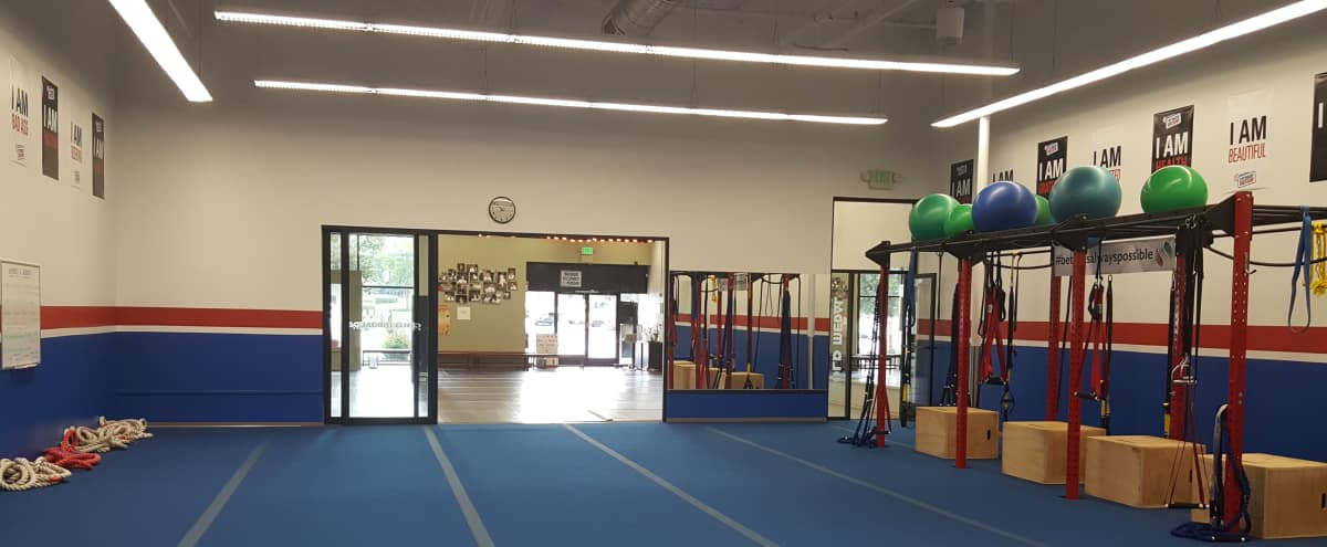 Spacious San Mateo/Burlingame Fitness Studio in San Mateo Hero Image in Central San Mateo, San Mateo, CA