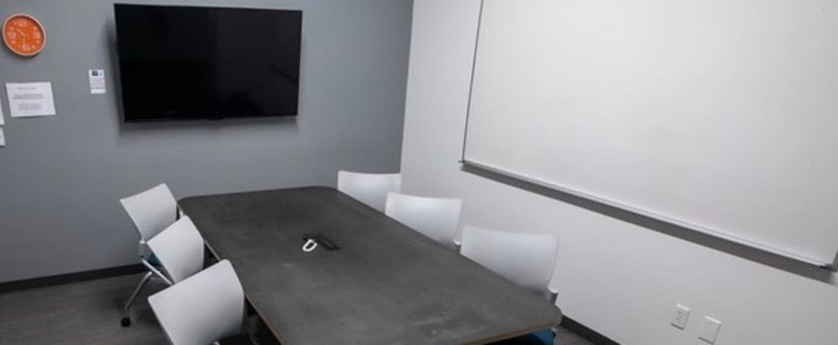 Medium Sized Modern Conference and Meeting Room For 3 in Phoenix Hero Image in Central City, Phoenix, AZ