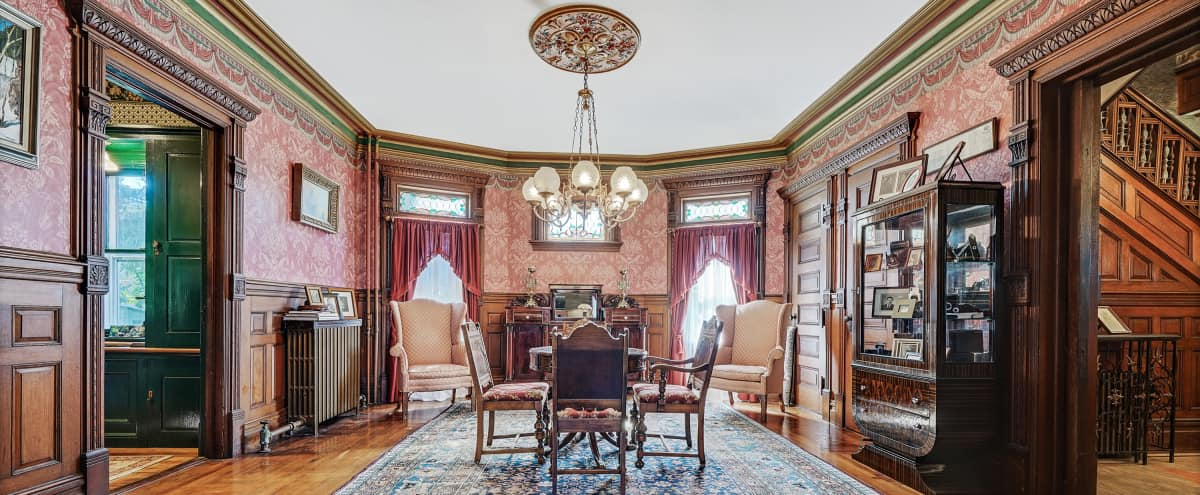 Historic Waterfront Queen Anne Victorian with Original Period Details and Ample Room for Special Events in Forked River Hero Image in Forked River, Forked River, NJ