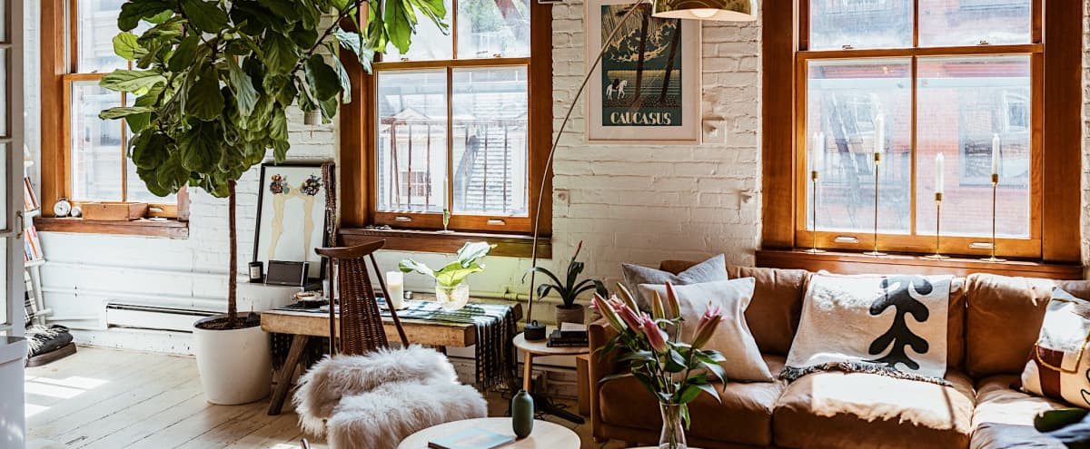 Scandi Farmhouse Meets Urban Chic in New York Hero Image in Financial District, New York, NY