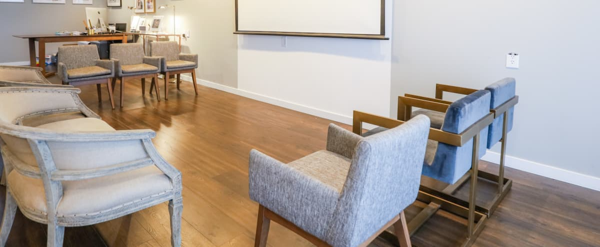 Meeting Space in Burlingame, 8 mins from  San Francisco Airport SFO. Easy Free Parking in Burlingame Hero Image in Ingold - Milldale, Burlingame, CA