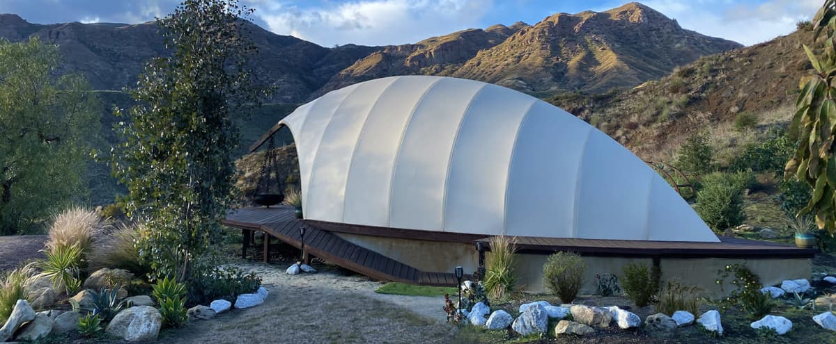Gesner Cocoon with Secluded Amazing Mountain Views in Malibu Hero Image in undefined, Malibu, CA