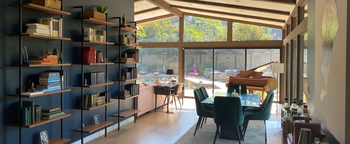 Mid-Century Modern House with Mountain Views in Studio City Hero Image in Studio City, Studio City, CA