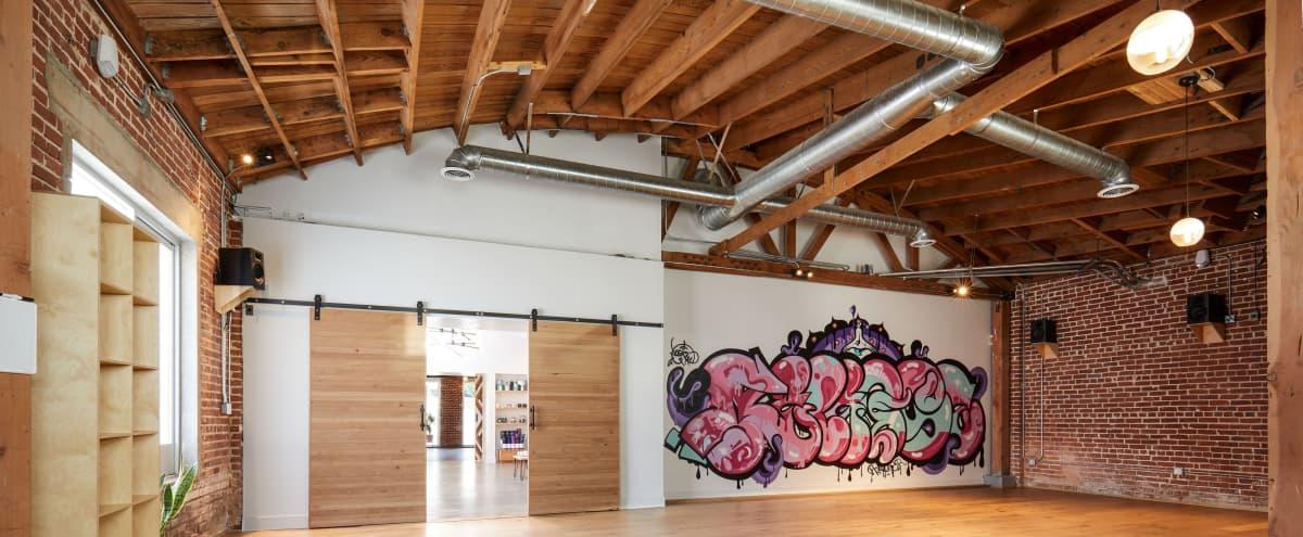 Bright Urban Yoga Studio in LA Hero Image in Historic Filipinotown, LA, CA
