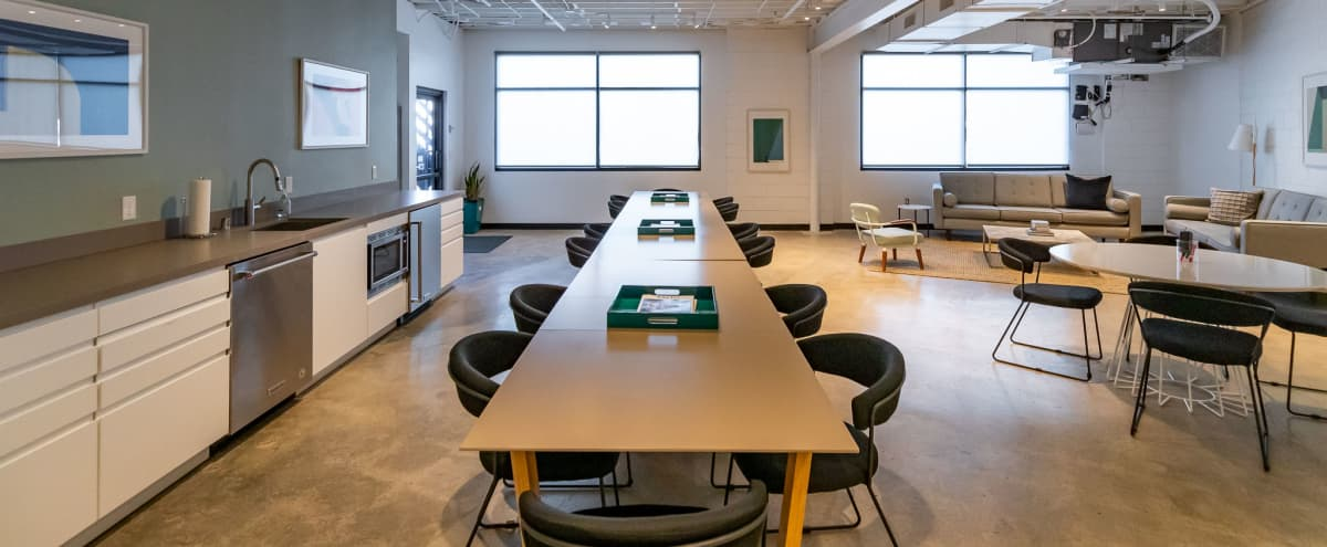 Modern Creative Office Space with Private Restrooms and Direct Access to Parking Lot in Venice Beach Hero Image in Venice, Venice Beach, CA