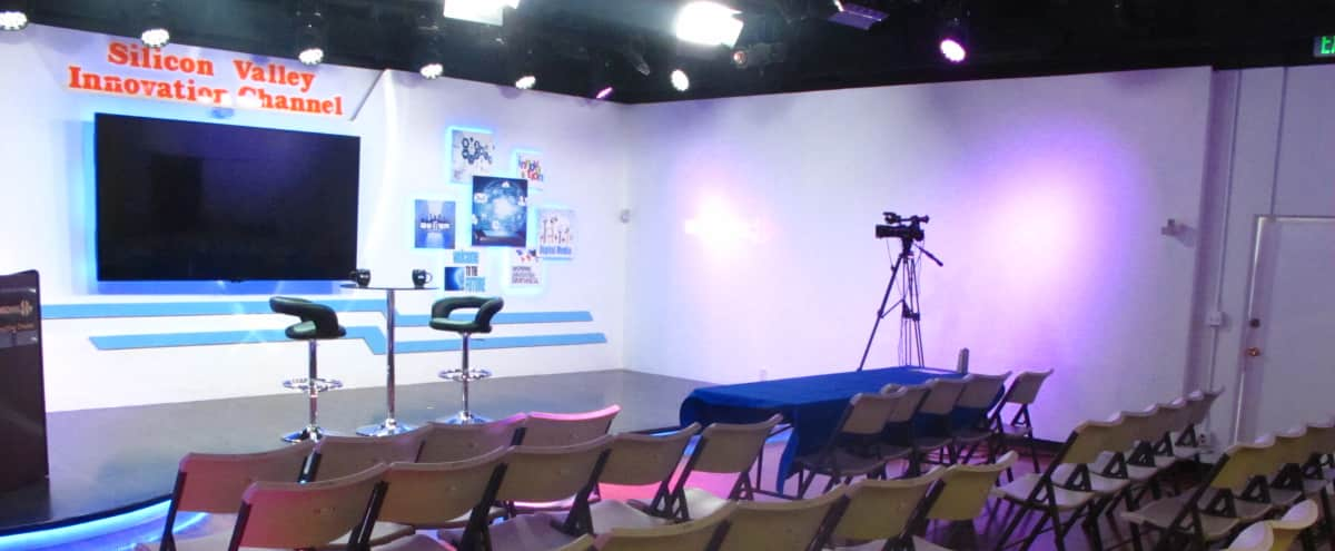 Event & conference TV Studio in Silicon Valley in Santa Clara Hero Image in undefined, Santa Clara, CA