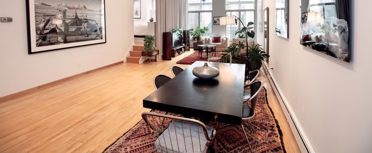 Modern Artist's Tribeca Loft in New York Hero Image in Tribeca, New York, NY