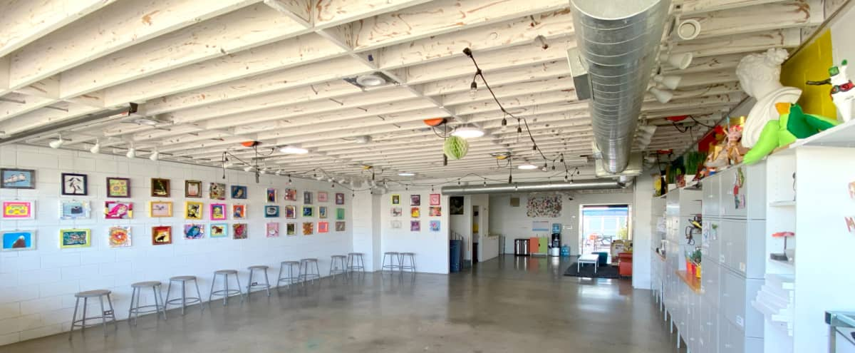 NoHo Industrial Art Studio with 2 Floors and Roof Deck in North Hollywood Hero Image in North Hollywood, North Hollywood, CA
